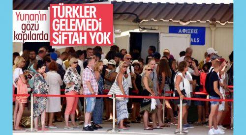 Yunan adaları para kazanmak için Türkleri bekliyor