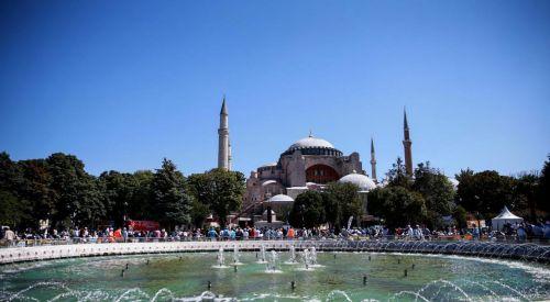 Το Τζαμί Αγία Σοφία άρχισε να λειτουργεί ξανά ως χώρος λατρείας