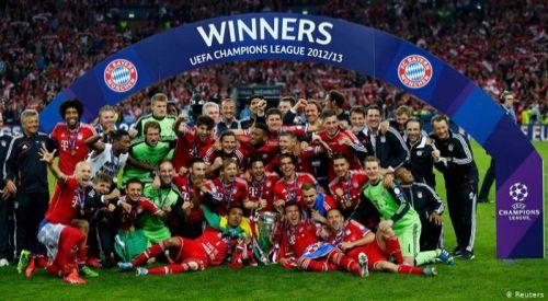 Şampiyonlar Ligi kupasını kazanan Bayern Münih oldu