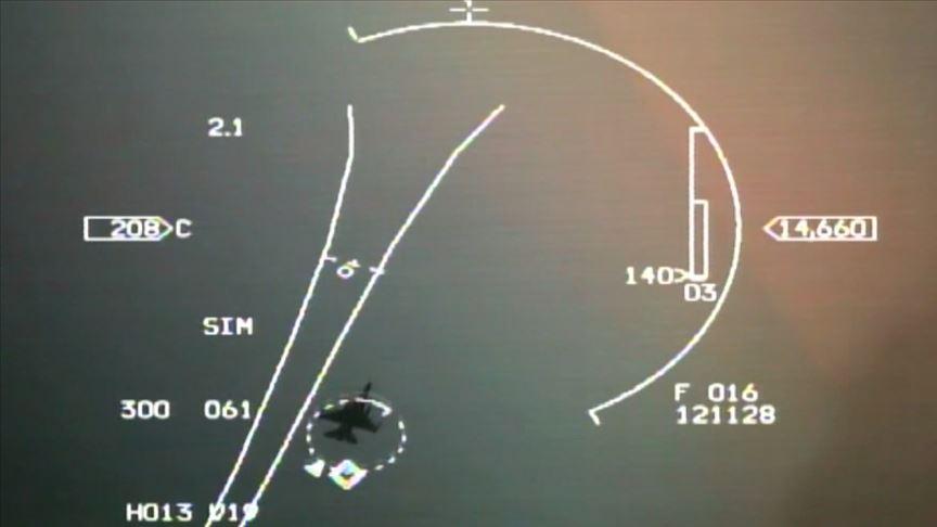 'Türk savaş uçakları, Yunan F-16'larını Navtex bölgesinden uzaklaştırdı'