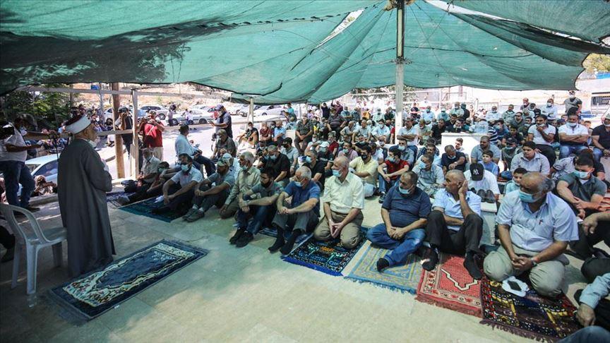 Filistinliler Doğu Kudüs'te İsrail'in yıkımlarına tepki gösterdi