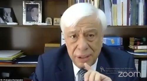 Pavlopulos Batı Trakya Türkleri'ne yönelik inkarcı söylemlerini tekrarladı