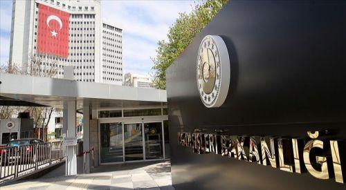 Türkiye'den ABD'nin Kıbrıs Rum Yönetimi'ne silah ambargosunu kaldırma kararına tepki