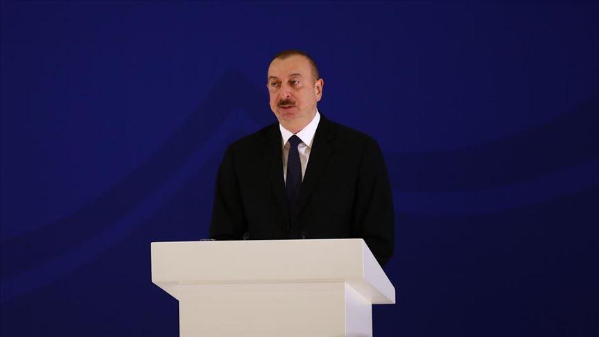 Azerbaycan Cumhurbaşkanı Aliyev'den Yunanistan'a eleştiri, Türkiye'ye destek