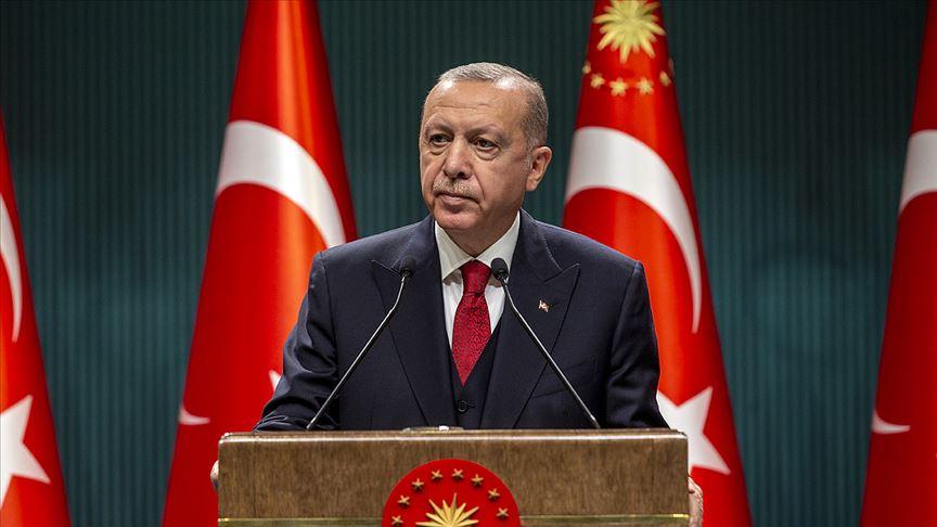 'Türk milleti tüm imkanlarıyla Azerbaycanlı kardeşlerinin yanındadır'