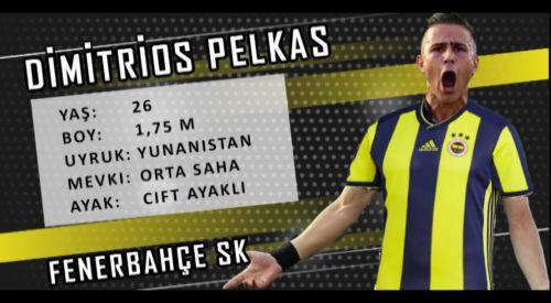 Dimitris Pelkas, sağlık kontrolünden geçti