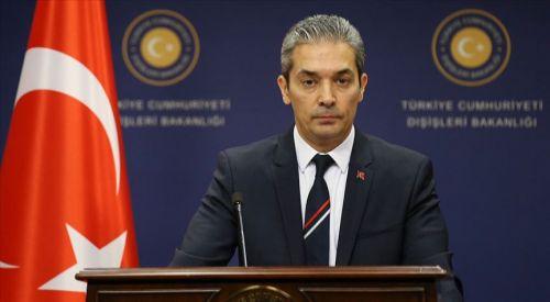 Türkiye Dışişleri Bakanlığı'ndan Dendias'a cevap