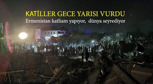 Yunanistan'ın desteklediği terörist Ermenistan'dan bir insanlık suçu daha