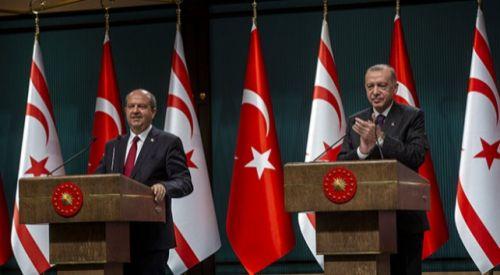 Türkiye Cumhurbaşkanı Erdoğan'dan KKTC Cumhurbaşkanı Tatar'a tebrik
