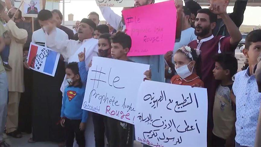 Libya'dan İslam düşmanlığı yapan Fransa'ya tepki ve boykot çağrısı