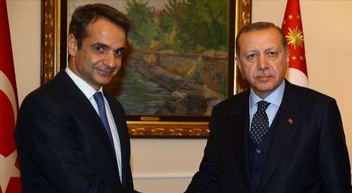 Miçotakis, Erdoğan ile telefonda görüştü
