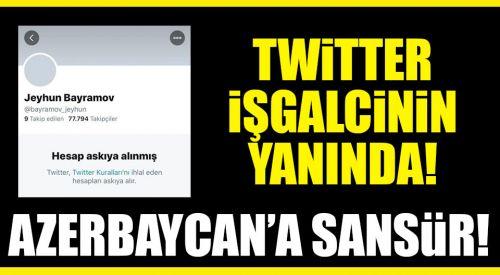 Skandal! Twitter, Azerbaycan Dışişleri Bakanı Bayramov'un hesabını kapattı