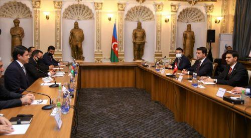 YTB Başkanı Eren'den Azerbaycan'a destek ziyareti