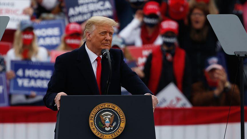 Trump: Yasal olmayan ve geç gelen oyları sayarsanız, bu seçimi bizden çalabilirler
