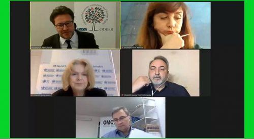 Batı Trakya Türk Azınlık temsilcileri AGİT seminerine katıldı