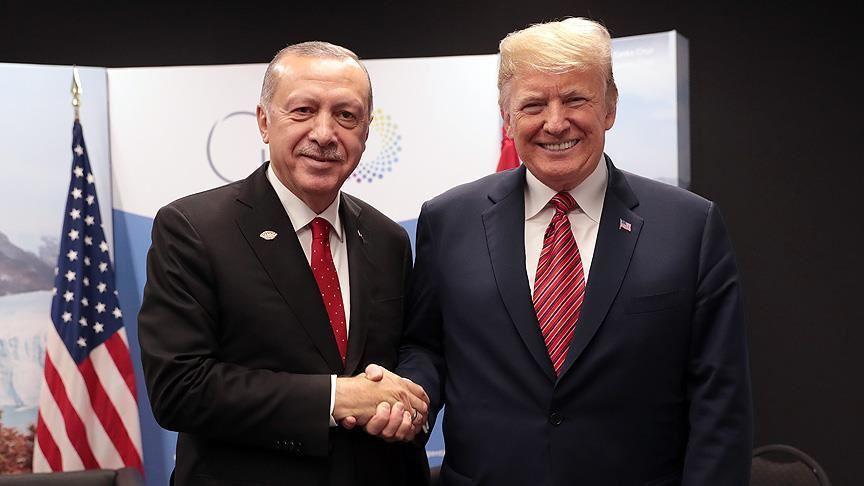 Türkiye Cumhurbaşkanı Erdoğan'dan ABD Başkanı Trump'a mesaj
