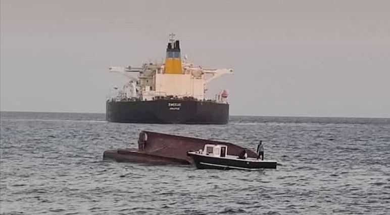 Yunan tankeri ile Türk balıkçı teknesi çarpıştı 5 kişi kayıp