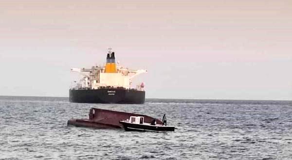 Yunan gemisinin çarptığı teknedeki balıkçılar kazaya uyurken yakalanmış