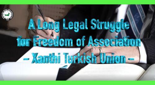 ABTTF'nin İskeçe Türk Birliği'nin hukuk mücadelesini anlatan videosu EIN'in internet sayfasında