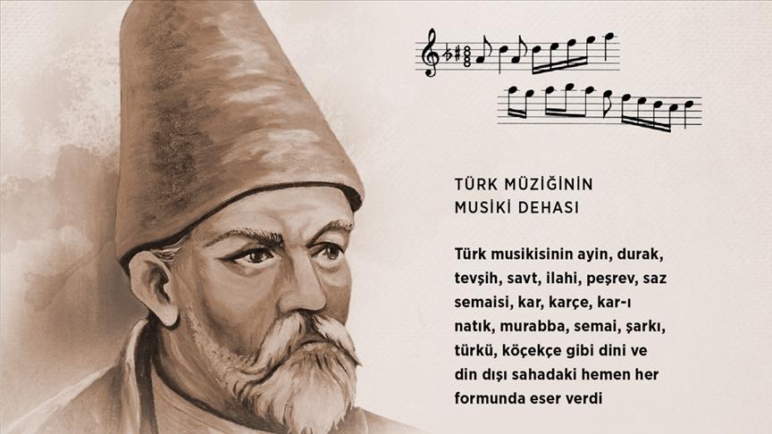 Türk musikisinin dehası: İsmail Dede Efendi