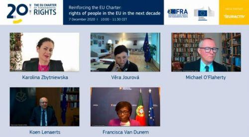 ABTTF, AB Temel Haklar Şartı konulu FRA çevrimiçi konferansına katıldı