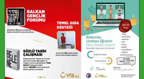 YTB'nin Balkan ülkelerine eğitim desteği sürüyor