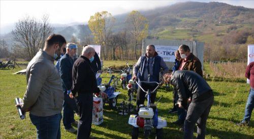 TİKA'nın Karadağ'da tarım ve istihdama desteği sürüyor