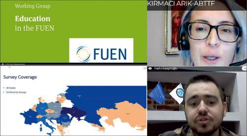 Η τουρκική αντιπροσωπεία της Δυτικής Θράκης στην ετήσια συνάντηση της FUEN