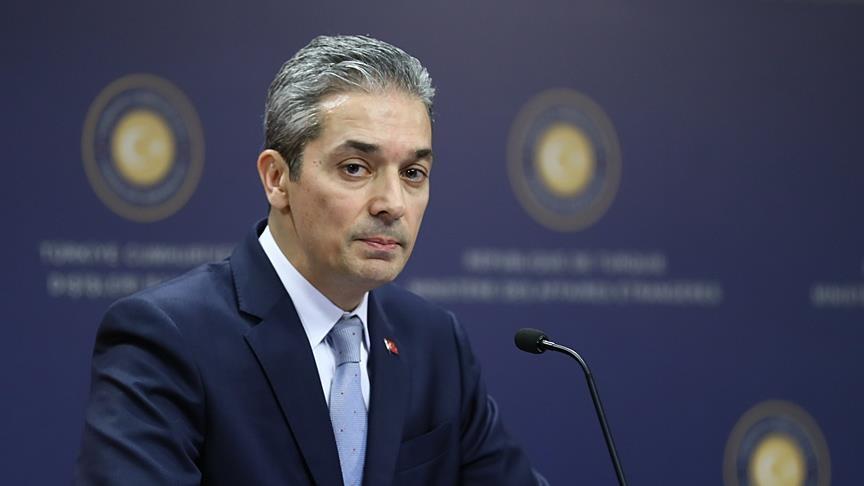 'Yunanistan'ı sorumlu şekilde hareket etmeye davet ediyoruz'