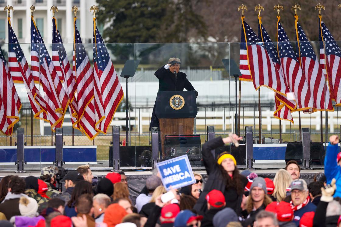 Trump: Seçimlerde usulsüzlük yapıldı, yenilgiyi asla kabullenmeyeceğim