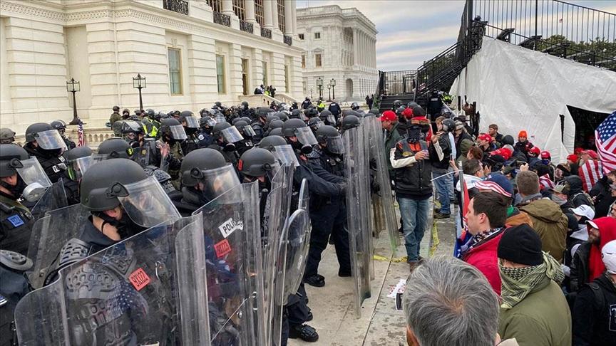 Avrupa ülkeleri, ABD'de Kongre binasının işgal edilmesine tepki gösterdi