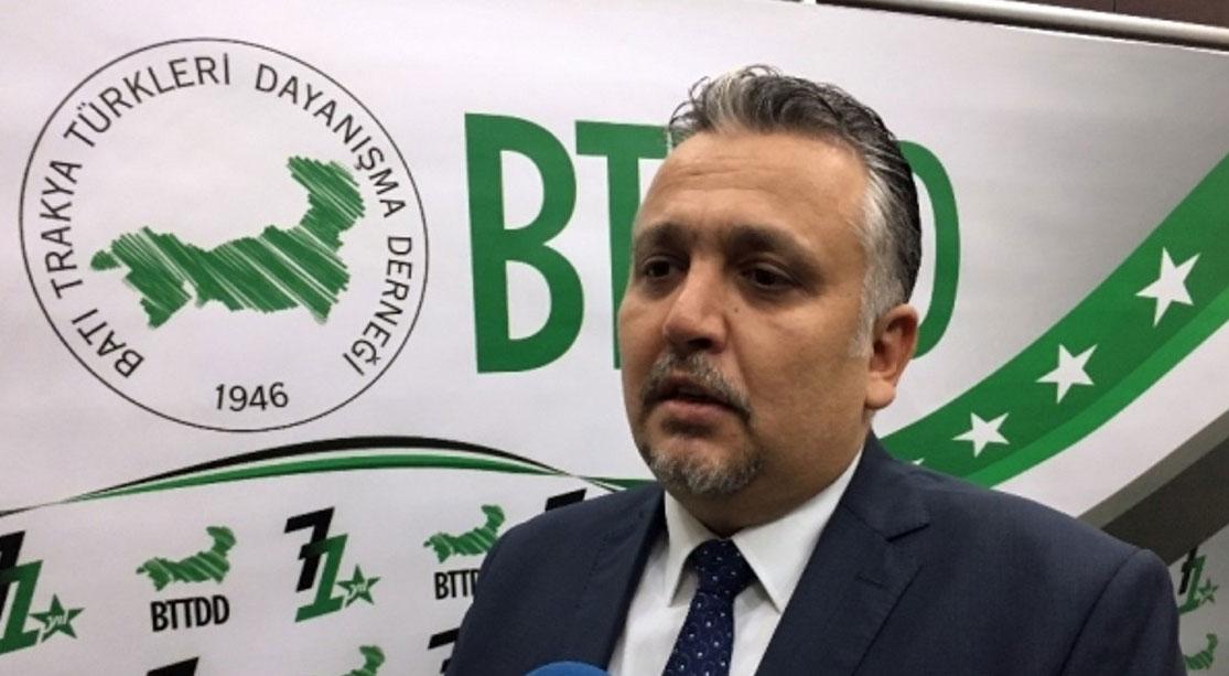 Batı Trakya Türkleri Dayanışma Derneği İeronimos'a tepki gösterdi