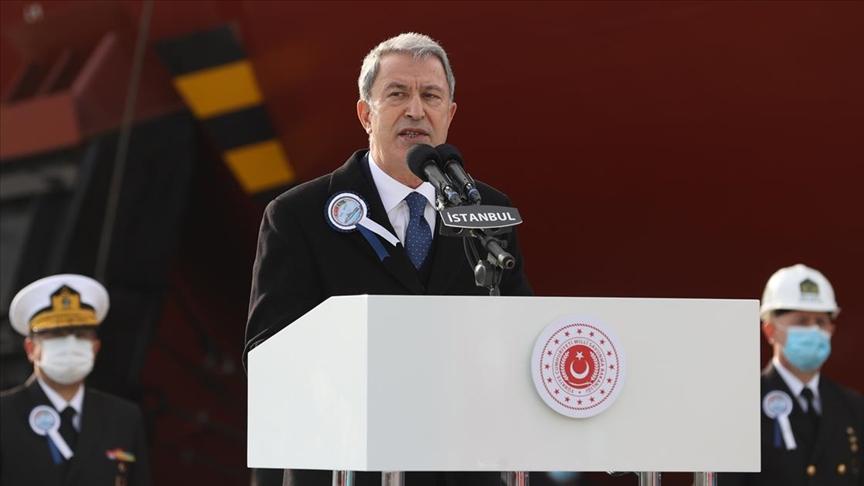 """""""Yunanistan'la yapacağımız görüşmelerle meselelerin hukuk çerçevesinde ele alınmasını umuyoruz"""""""