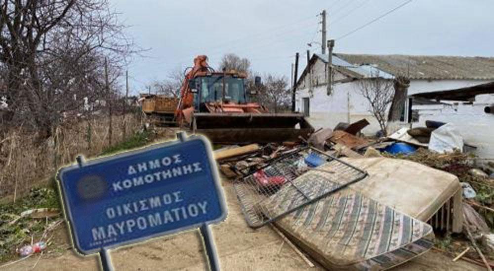 Gümülcine Belediyesi'nden sel mağdurlarına destek