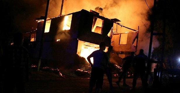 Sinikova'da yangın: 2 kişi yanarak can verdi
