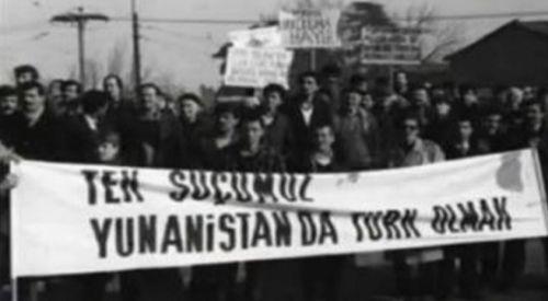 """Batı Trakya Türklerinin milli şahlanışı """"29 Ocak Direnişi"""" anıldı"""