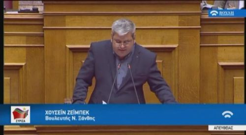 Milletvekili Zeybek'ten Mustafçova Belediyesi'ne itfaiye talebi