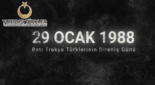 """YTB'den """"29 Ocak Milli Direniş ve Toplumsal Dayanışma Günü"""" videosu"""