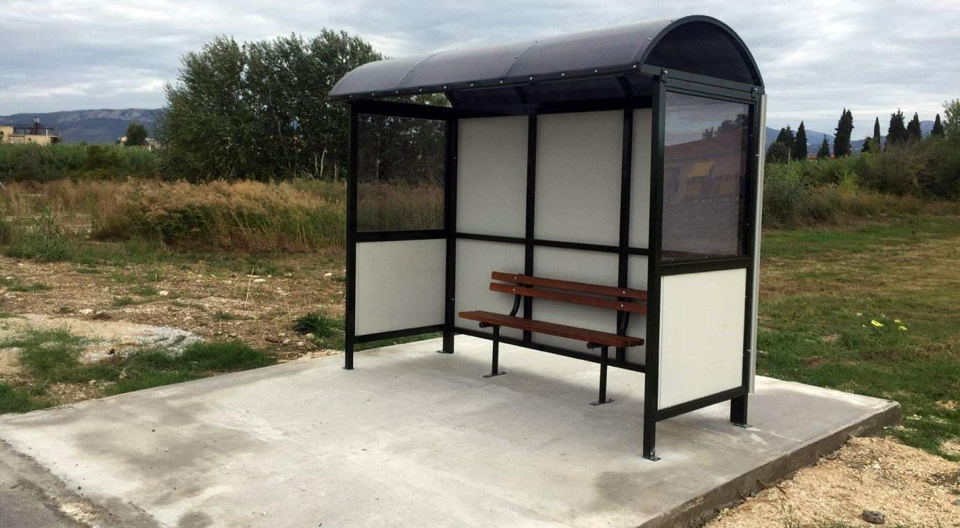 Kozlukebir Belediyesi bazı köylere yeni otobüs durakları yapacak