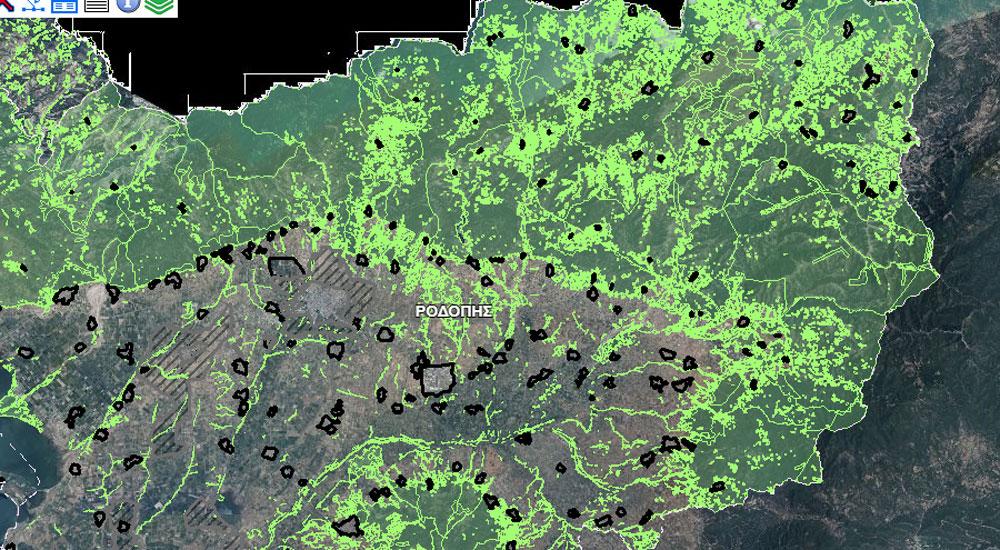 Rodop ilinin yeni orman haritaları yayımlandı
