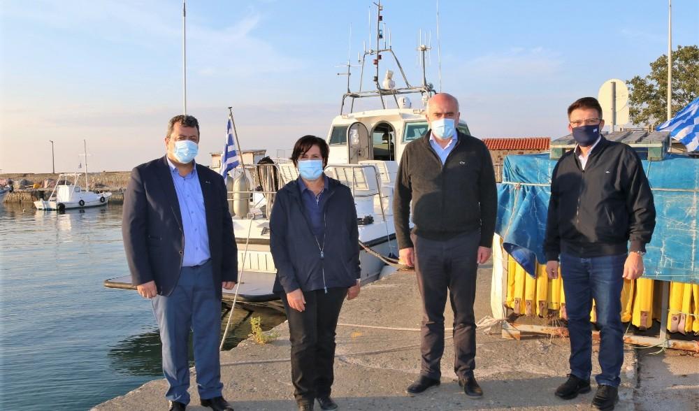 Semadirek ve Taşoz adaları için deniz ambulansı