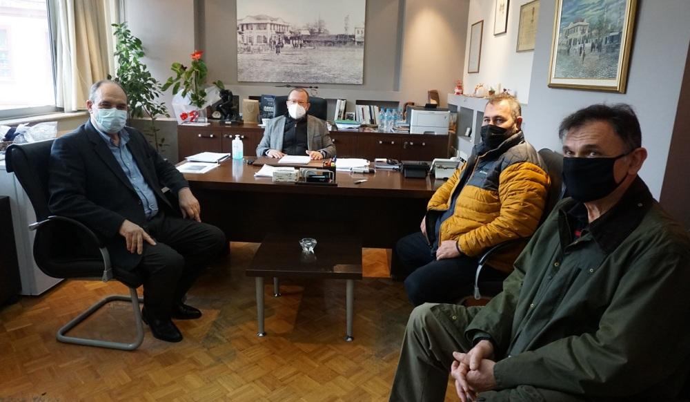 Rodoplu pazarcıların temsilcileri Garanis'le görüştü
