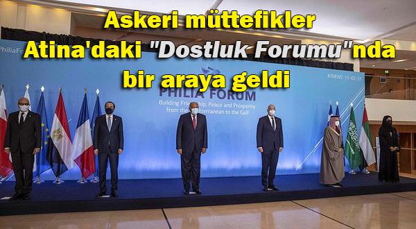 "Atina'da ""Dostluk Forumu"" düzenlendi"