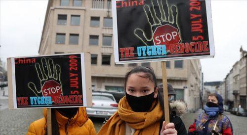 Belçika: Çin'in Uygurlara yönelik uygulamalarının 'soykırım' olarak tanınması istendi