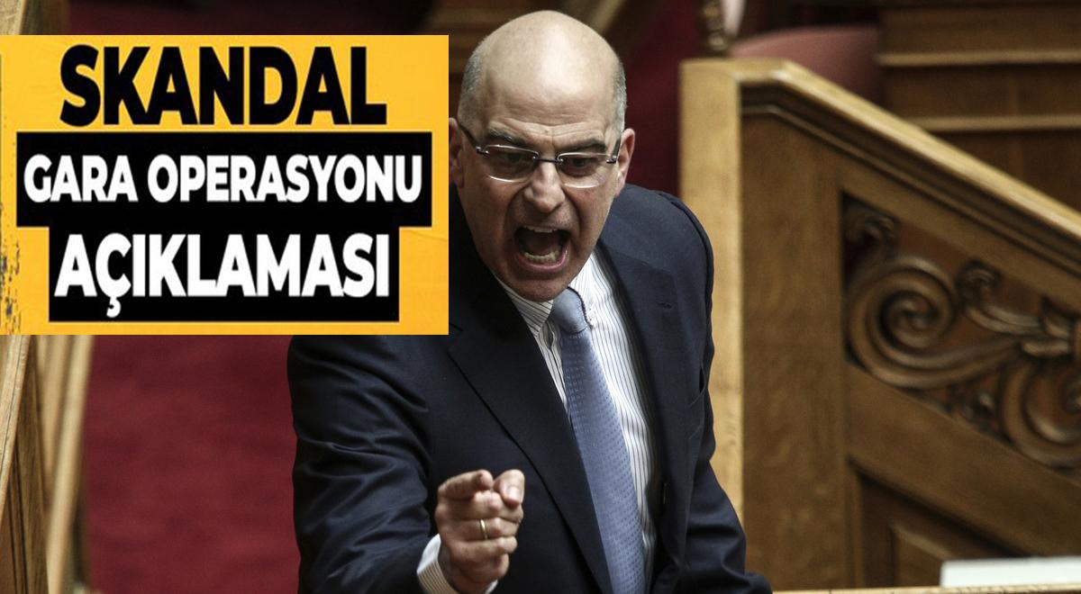 Dendias, Türkiye'nin Gara harekatını kınadı