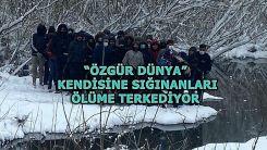 Vicdansızlık: Ölüme terk edilen düzensiz göçmenler