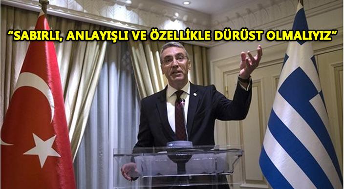Türkiye'nin Atina Büyükelçisi Özügergin, Türk-Yunan ilişkilerini değerlendirdi