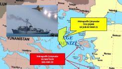 Türkiye: Yunan savaş uçakları gemimizi taciz etti