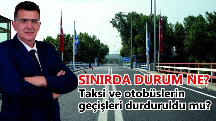 Milletvekili Baran Kipi sınır kapısı geçişlerindeki son duruma açıklık getirdi