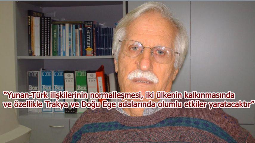 Emekli büyükelçi İoakimidis: Türkiye'yi Akdeniz'den dışlayıcı ittifaklar yanlıştır